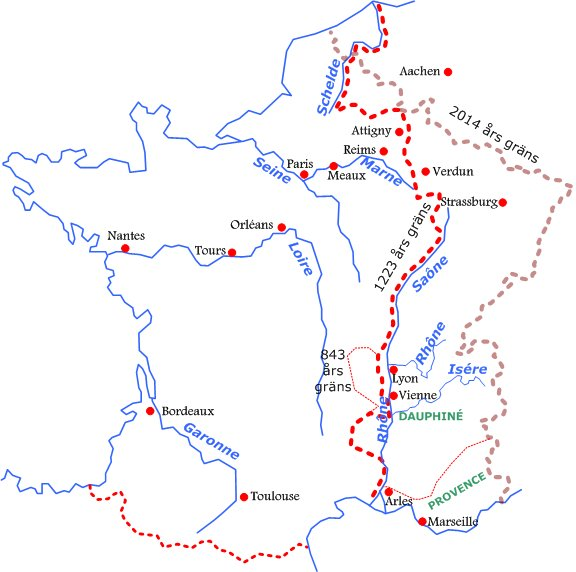 Sonesgarden Frankrikes Historia